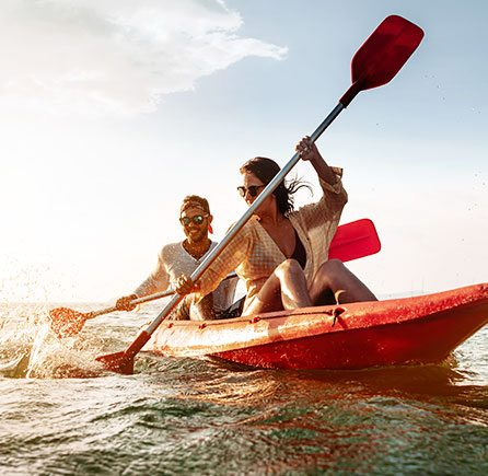 Eastern Outdoors Sea Kayak Tours at at Andrews By the Sea, New Brunswick
