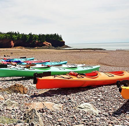 Day trip at Andrews By the Sea, New Brunswick