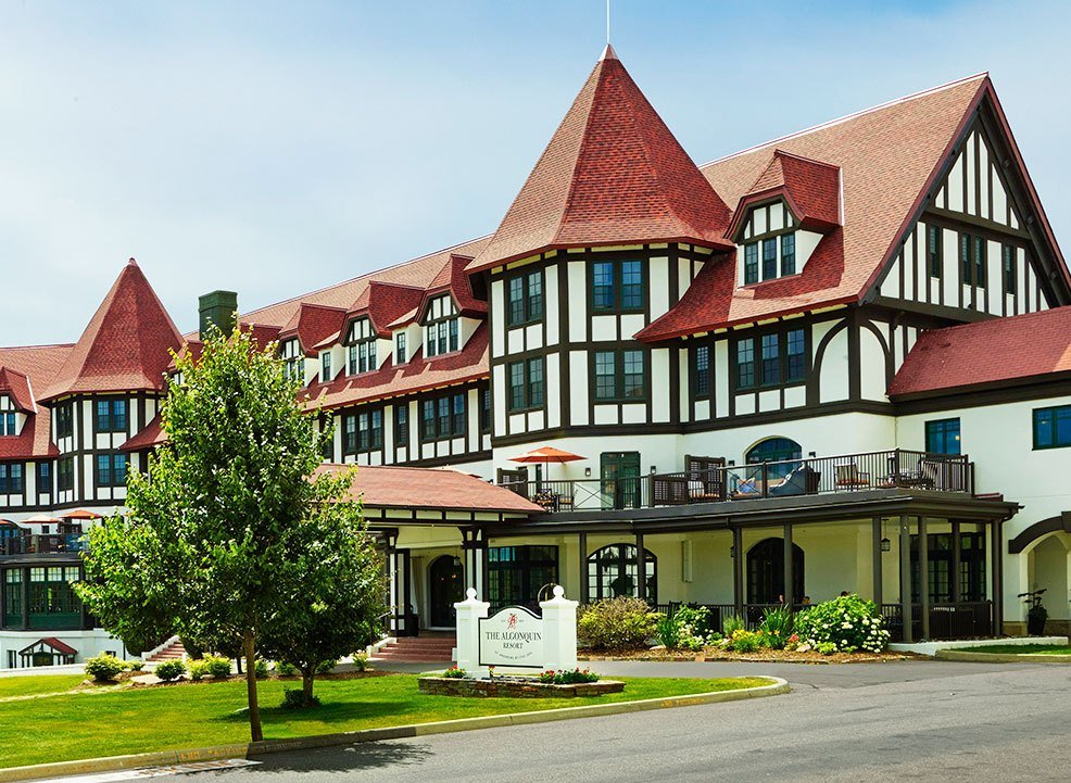 On Resort Activities at Algonquin, New Brunswick