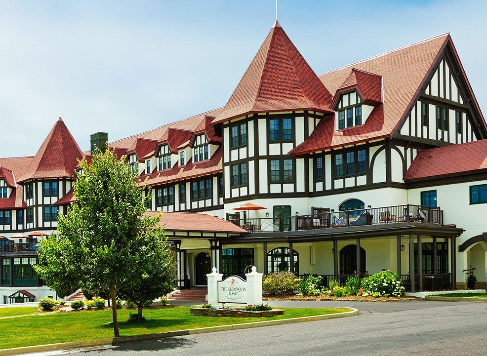 On Resort Activities at Algonquin, New Brunswick