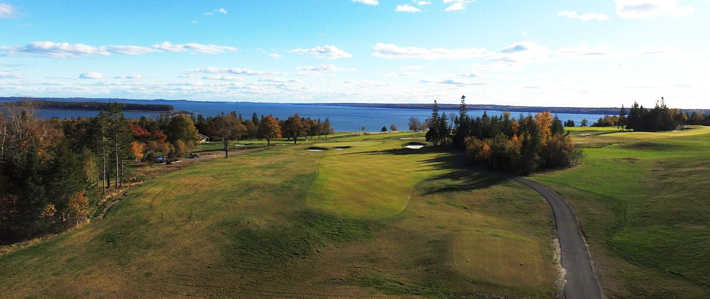 Golf hole-10 Algonquin resort, Andrews by the sea