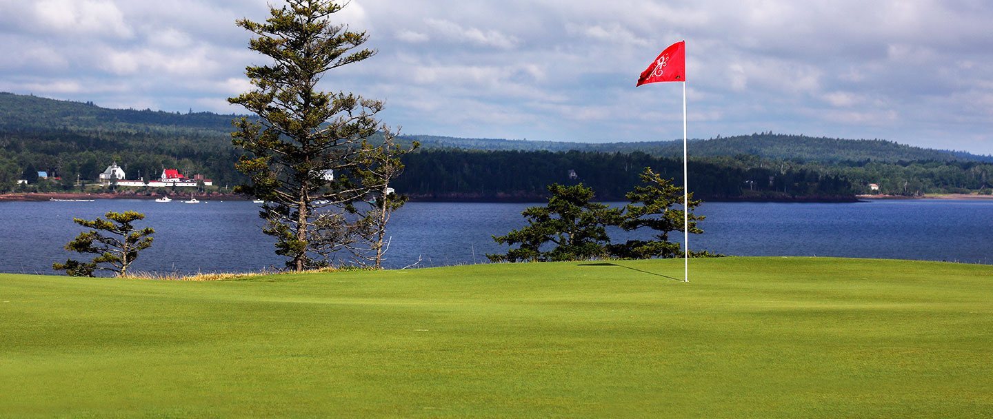 Golf hole-11 Algonquin resort, Andrews by the sea