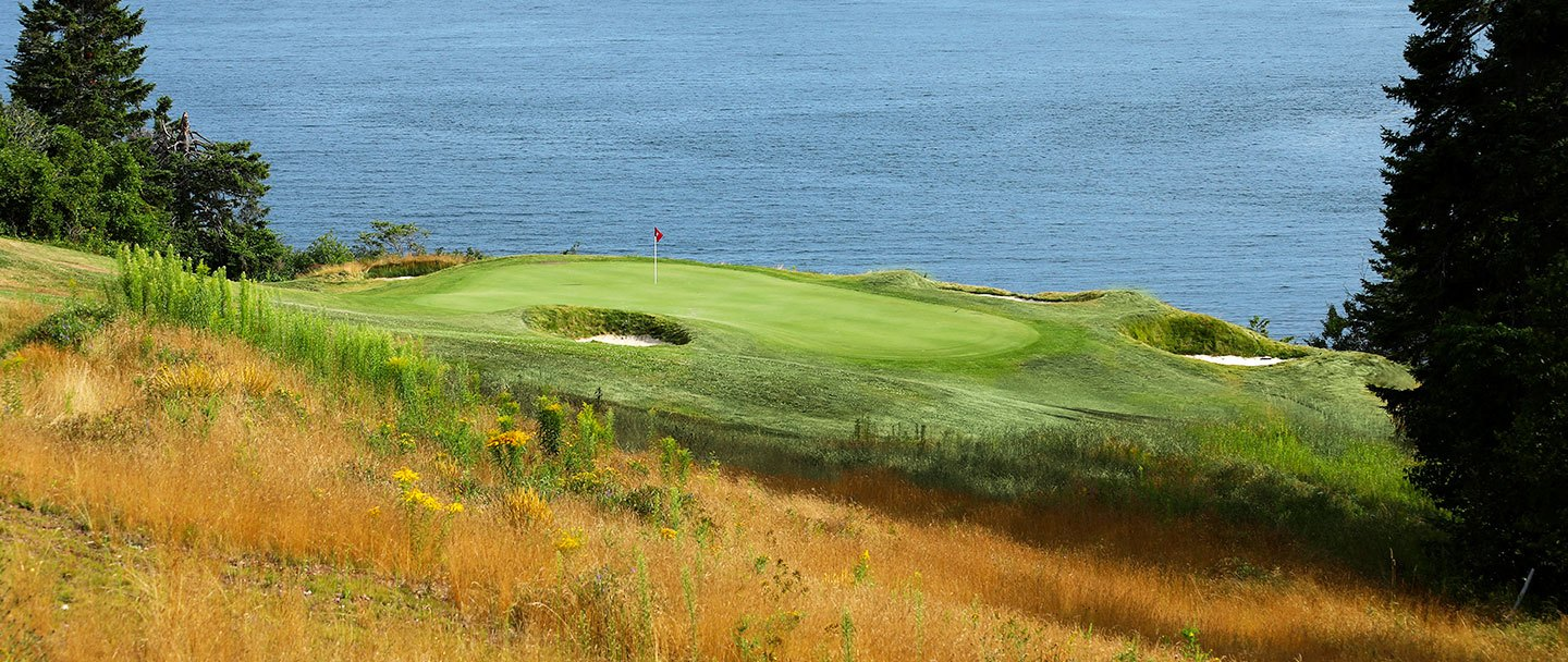 Golf hole-12 Algonquin resort, Andrews by the sea