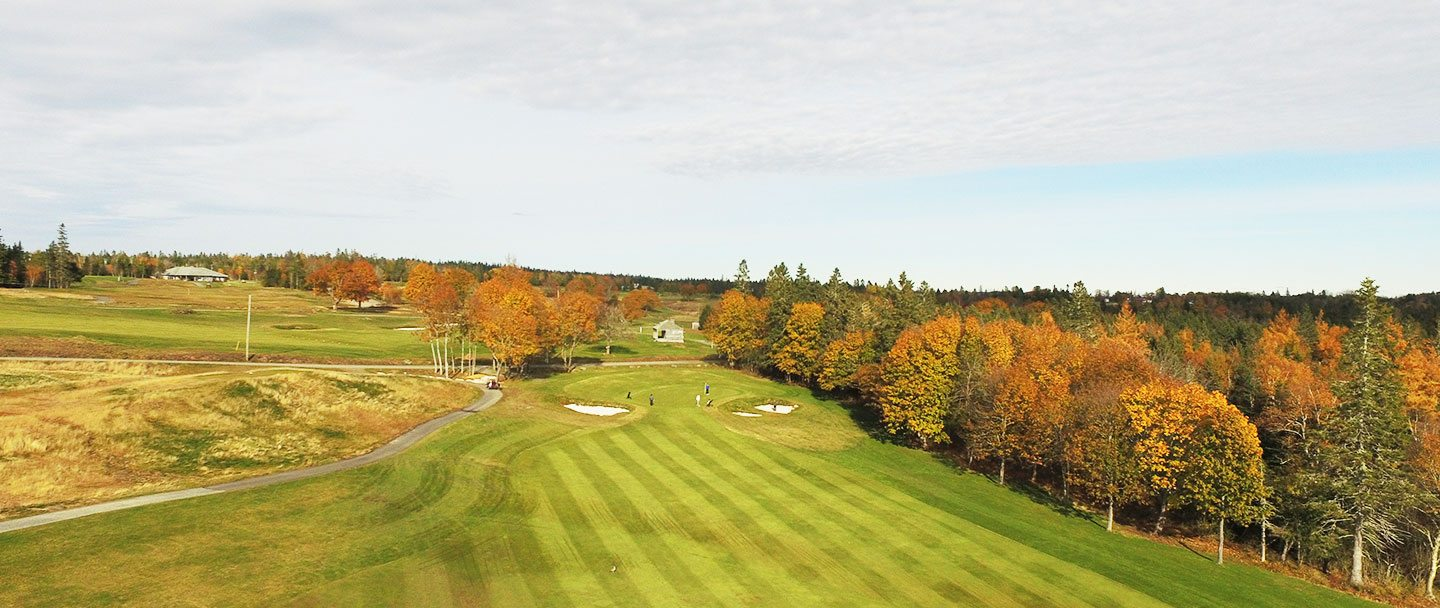 Golf hole-15 Algonquin resort, Andrews by the sea