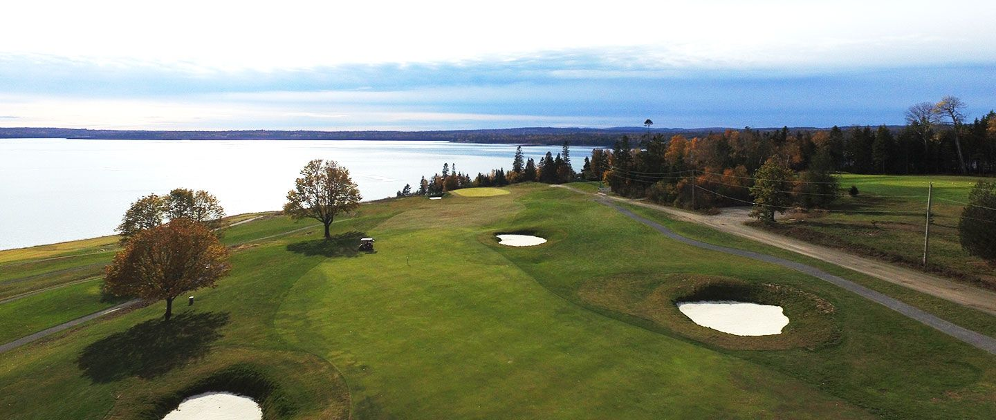 Golf hole-16 Algonquin resort, Andrews by the sea