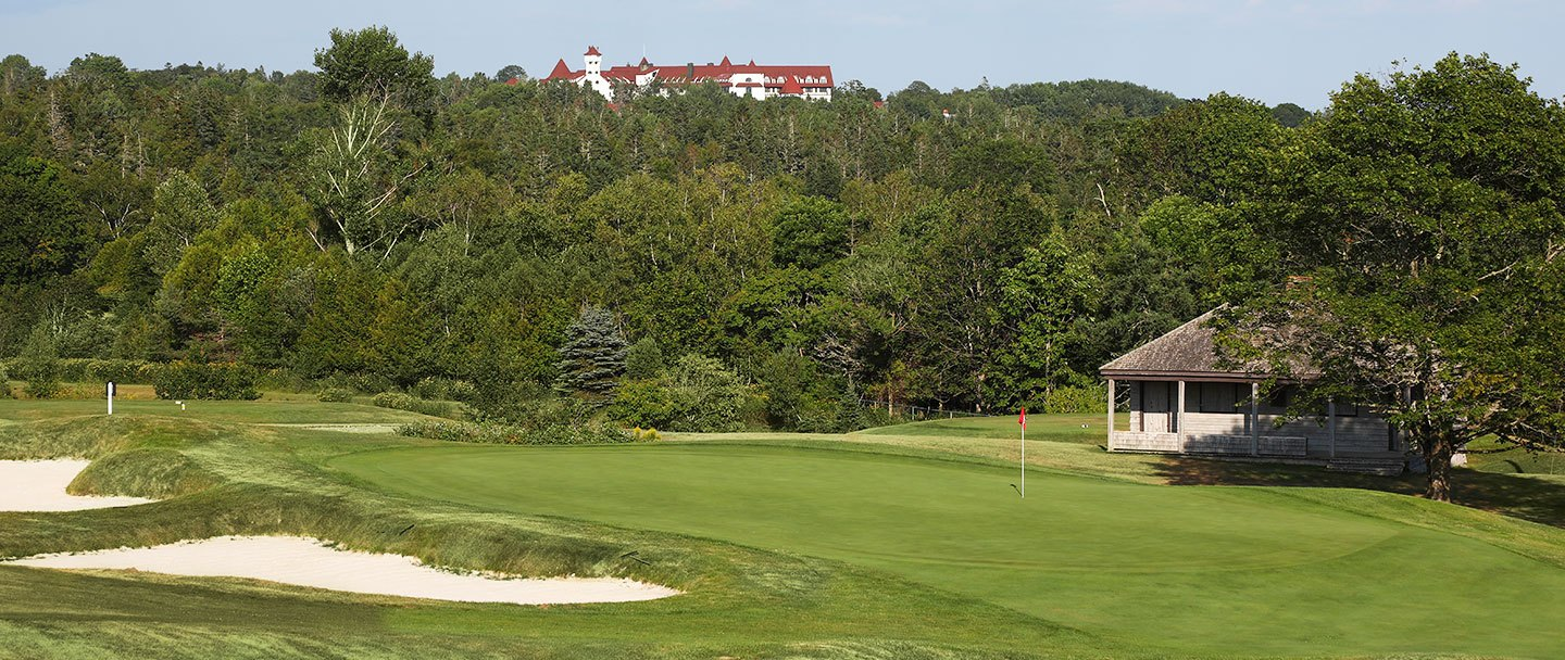 Golf hole-17 Algonquin resort, Andrews by the sea
