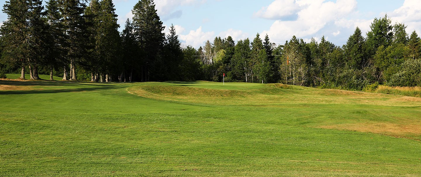 Golf hole-3 Algonquin resort, Andrews by the sea