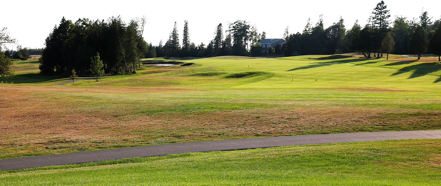 Golf hole-9 Algonquin resort, Andrews by the sea