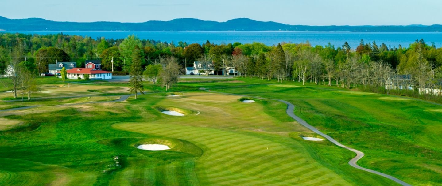 Golf hole-6 Algonquin resort, Andrews by the sea
