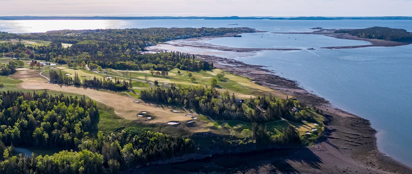 Golf Renovation at Algonquinresort,Andrews By The Sea