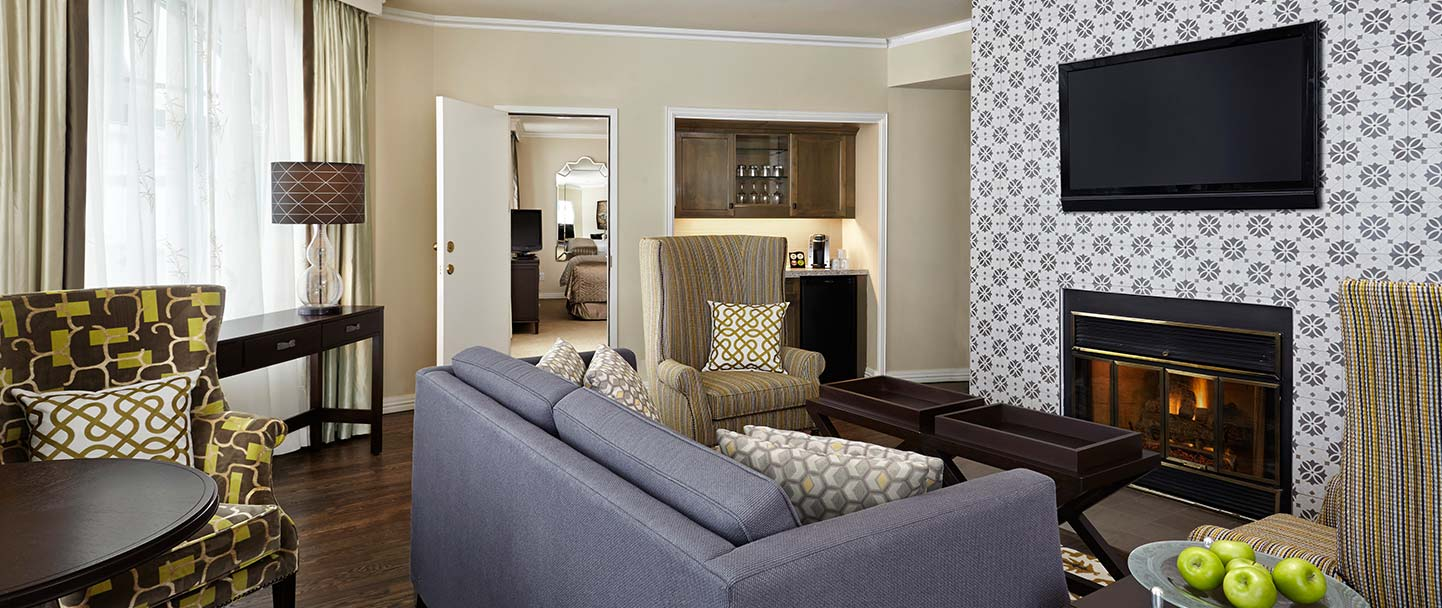 Executive One-Bedroom Suite at Algonquin, New Brunswick
