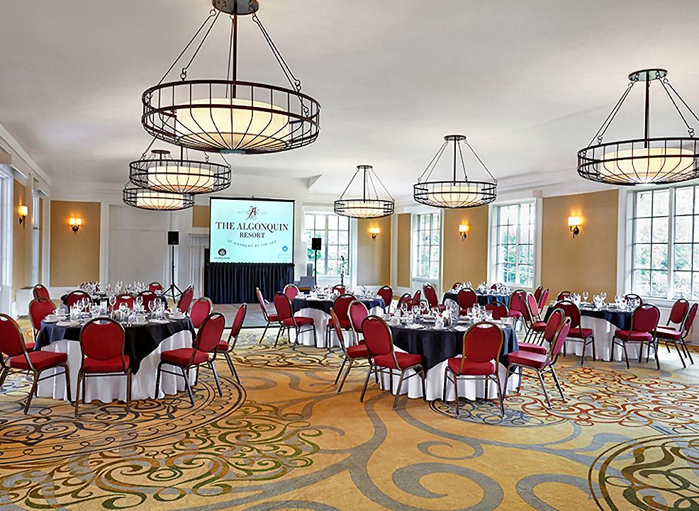 Weddings In Door Venues Van Horne Ballroom at Algonquin Resort St. Andrews