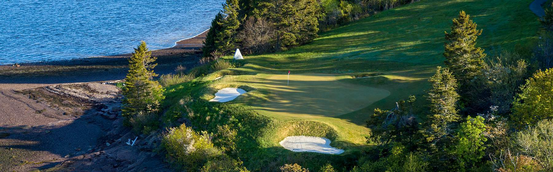 Golf course overview at Andrews By The Sea, NewBrunswick