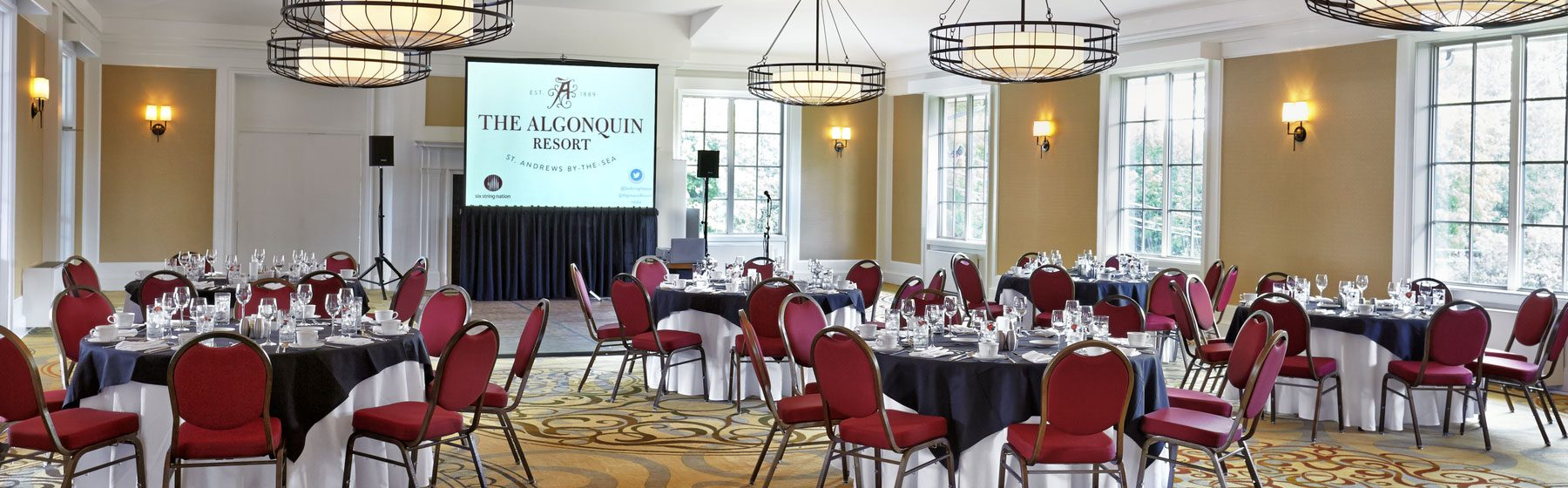 Meeting Planner at Algonquin resort, Andrews By The Sea