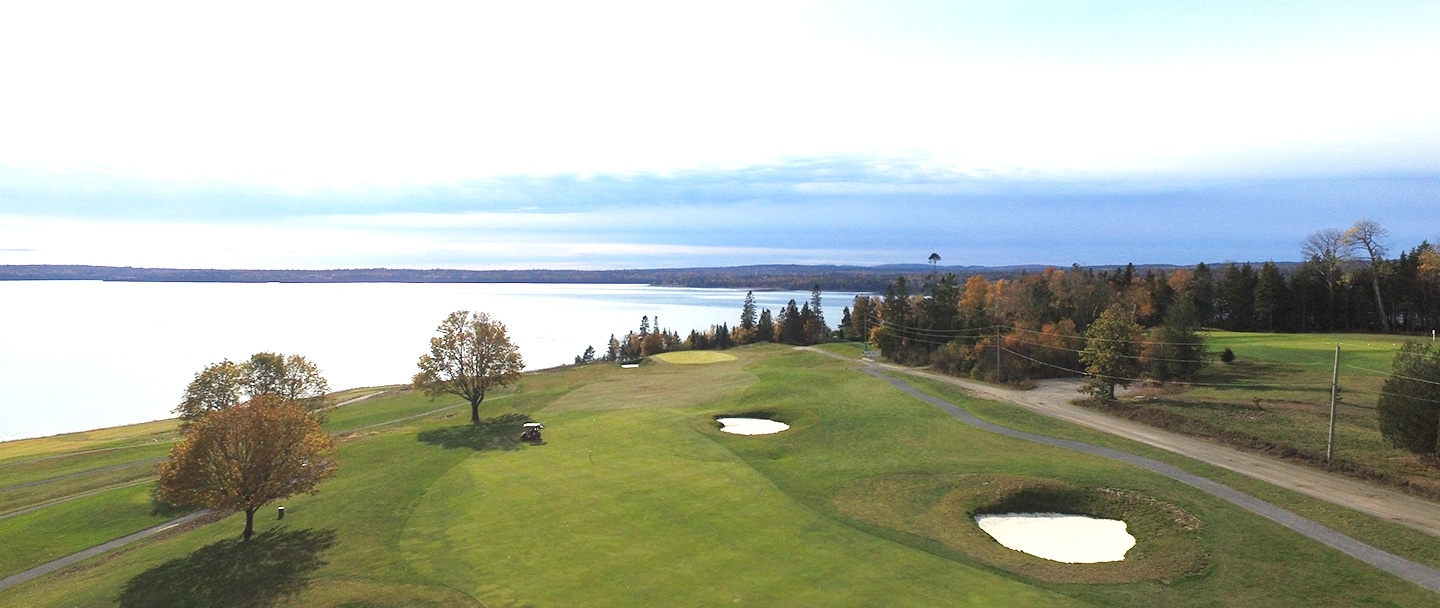 Evolution hole at Algonquinresort,Andrews by the sea