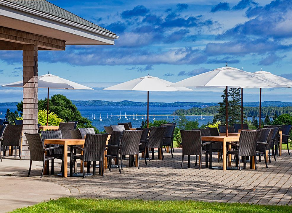 Clubhouse Restaurant at Algonquin resort, Andrews By The Sea