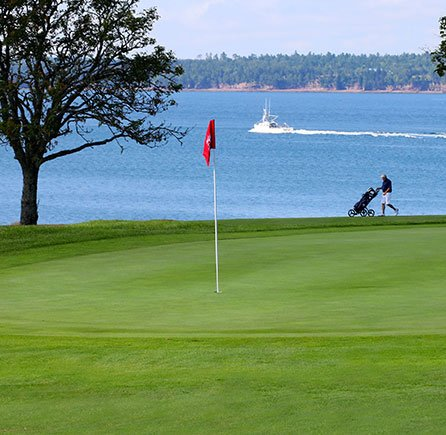 18 Holes to Heaven at Algonquin resort, Andrews By The Sea