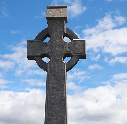 Celtic Cross at Andrews By the Sea, New Brunswick