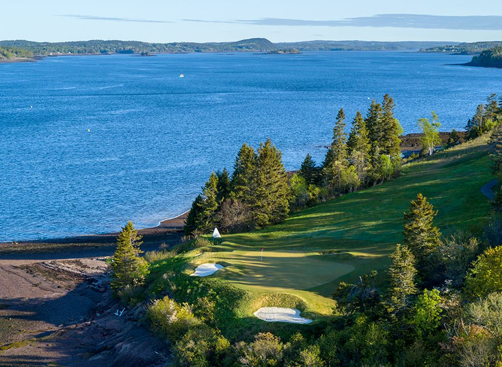 Golf tournaments & corporate outings may to october at Algonquinresort,Andrews By The Sea
